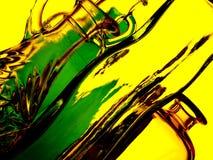 abstrakt glasföremål Arkivfoto