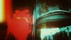 Abstrakt glass tappning fotografering för bildbyråer