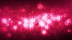 Abstrakt glimma partikelanimering lager videofilmer
