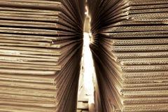 Abstrakt gofrujący papier zdjęcia stock