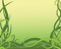 Abstrakt gräs Vektor Illustrationer