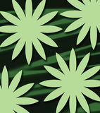 abstrakt grässolsken Arkivfoto