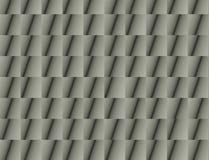 Abstrakt grå arkitekturdetalj Arkivfoton