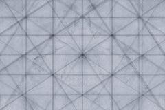 Abstrakt grå bakgrund av träplankorna bakgrundspläd Abstrakt minimalistic modell av romber Arkivfoton