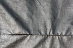 Abstrakt grå vattentät textiltextur Arkivbilder