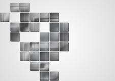Abstrakt grå vektordesign Royaltyfri Foto