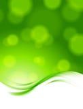 Abstrakt grön bakgrund Arkivbilder