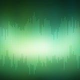 Abstrakt grön bakgrundsvektor Arkivfoto