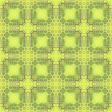 Abstrakt grön mosaisk modell Tegelplattatexturbakgrund seamless illustrationrep vektor illustrationer