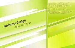 Abstrakt grön orienteringsvektorbakgrund Stock Illustrationer
