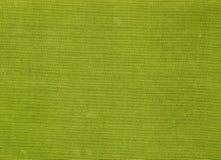 Abstrakt grön textiltextur och bakgrund Royaltyfria Bilder