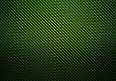 Abstrakt grön texturerad materiell design för kol fiber Arkivbilder