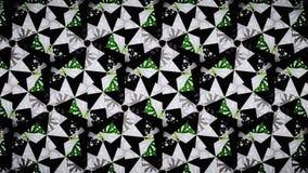 Abstrakt grön vit svart färgtapet arkivfoton