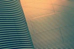 abstrakt gröna linjer yellow Royaltyfria Bilder