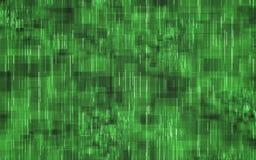 Abstrakt grönt begrepp för digital teknologi royaltyfri illustrationer