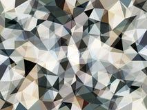Abstrakt gr? geometrisk bakgrund f?r vektor royaltyfri illustrationer