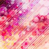 Abstrakt grafisk bakgrund med cirklar Royaltyfri Foto