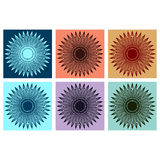 Abstrakt grafisk beståndsdel Arkivfoto