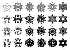 Abstrakt grafisk beståndsdeluppsättning vektor Royaltyfri Illustrationer