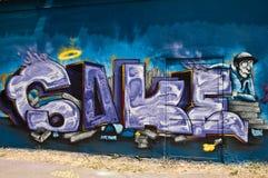 abstrakt grafitti Royaltyfri Fotografi