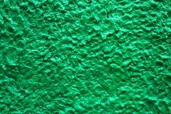 Abstrakt grön vägg för bakgrundstexturcement Royaltyfria Foton