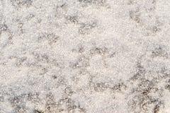 Abstrakt gropig textur av en vintersnödriva Royaltyfria Bilder