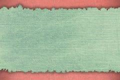 Abstrakt grov bomullstvilltextur Royaltyfri Fotografi