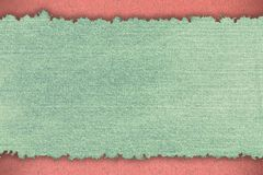 Abstrakt grov bomullstvilltextur Arkivbilder