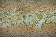 Abstrakt grov murbrukbakgrund i gränser Arkivfoton