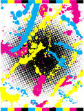 abstrakt grunge vektor illustrationer