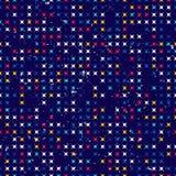 Abstrakt grungebakgrund av enkla former Sömlös rörelsemodell stock illustrationer
