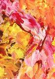 Abstrakt grungebakgrund i pastellfärgade signaler av rosa färger och guld Arkivbild