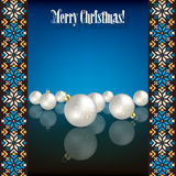 Abstrakt grungebakgrund med vit jul de Royaltyfria Foton
