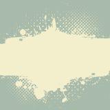 Abstrakt grungefärgstänkdesign Royaltyfria Bilder