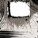 Abstrakt grungerambakgrund Arkivfoto