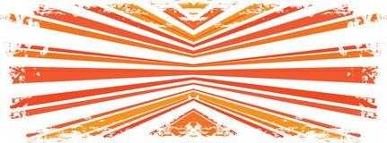 abstrakt grungestrålar Royaltyfri Bild