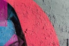 Abstrakt grungetexturbakgrund med färgsignaler Åldrig målarfärg på för metallyttersida för gammal buse den smutsiga närbilden, ko Arkivbild