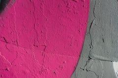 Abstrakt grungetexturbakgrund med grå färger och rosa färger färgar signal Royaltyfri Bild
