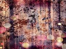 Abstrakt grungy målad texturbakgrund med inbokat Royaltyfri Foto
