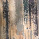 Abstrakt grungy målad wood texturbakgrund med inbokat Arkivfoton