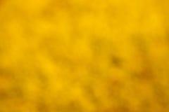 Abstrakt gul bakgrund eller guld- julbakgrund med den ljusa mittstrålkastaren Arkivfoton