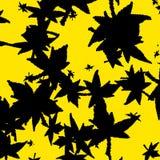 Abstrakt gul bakgrundstextur Royaltyfria Foton