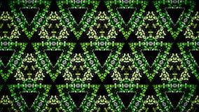 Abstrakt gul grön vit svart färgtapet royaltyfri foto