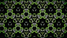 Abstrakt gul grön vit svart färgtapet arkivbild