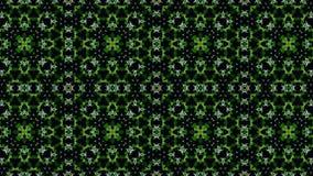 Abstrakt gul grön vit svart färgtapet arkivfoto