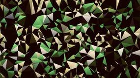 Abstrakt gul grön vit svart färgtapet royaltyfria bilder