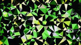 Abstrakt gul grön vit svart färgtapet royaltyfri bild