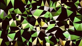 Abstrakt gul grön vit svart färgtapet royaltyfri fotografi