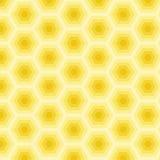 Abstrakt gul modell, vektor Royaltyfria Bilder