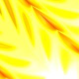 Abstrakt gul naturbakgrund För design för för banerreklambladaffisch eller räkning Upplyst ljus illustration för ljus effekt utsm Royaltyfri Bild